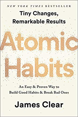 atomic habits book cover