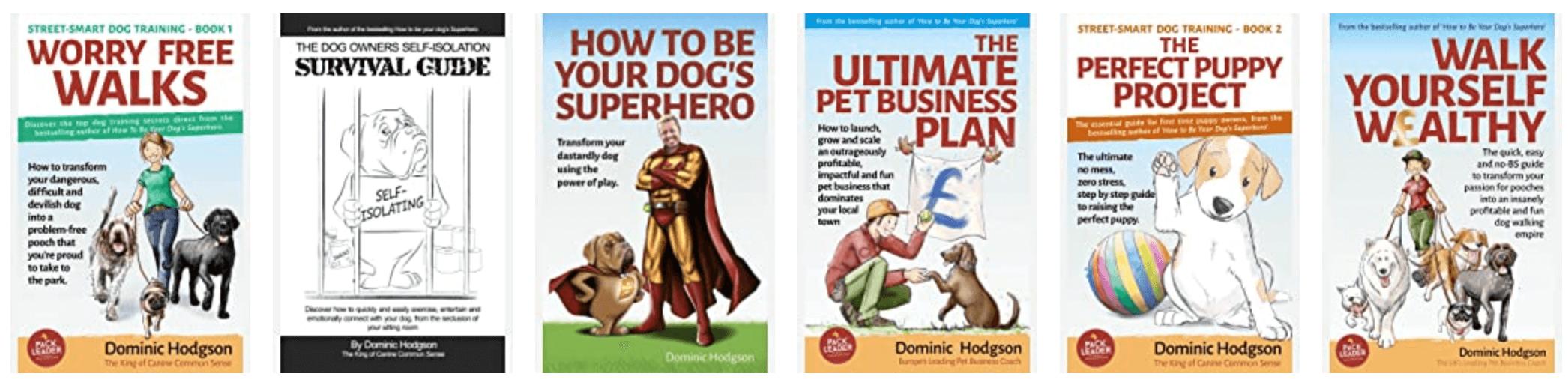 Dom Hodgson's 6 books